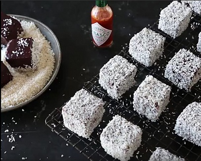 TABASCO® Lamingtons